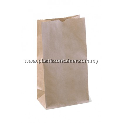 PAPER BAG SOS NO.4 BROWN