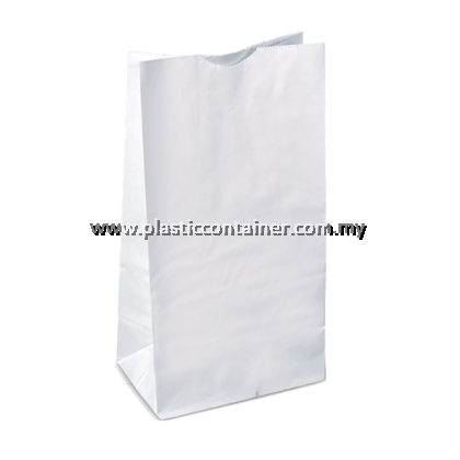 PAPER BAG SOS NO.4 WHITE