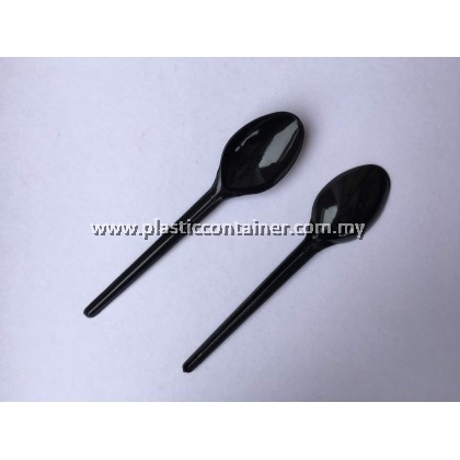 "DINNER SPOON 7""BLACK"
